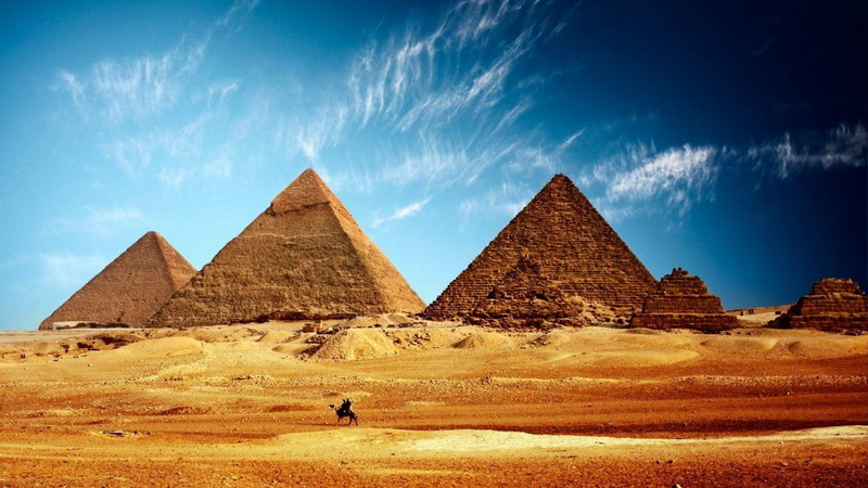Ancient Pyramids On Mars