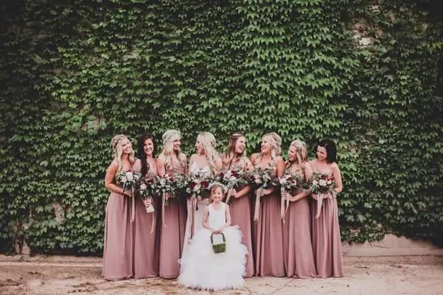 The best wedding color themes for fall 2017 her beauty junglespirit Choice Image