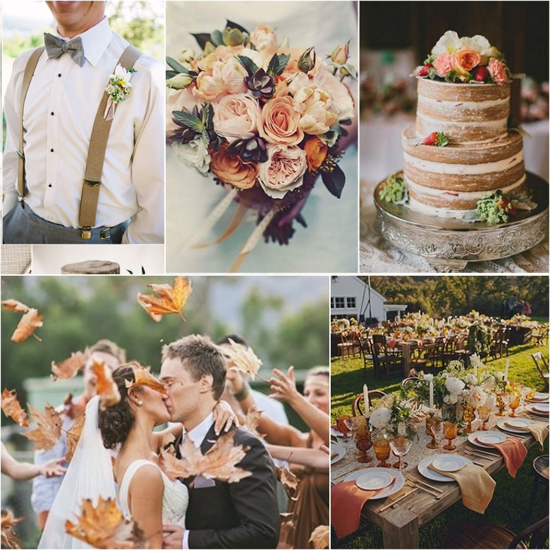 The Best Wedding Color Themes For Fall 2017 | Her Beauty