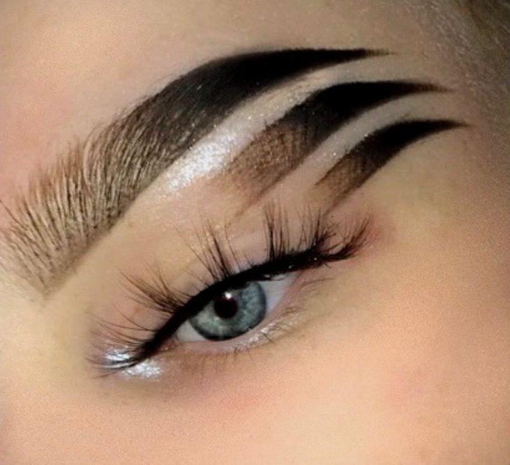 Top 10 Weird Instagram Eyebrow Trends Of 2017 Her Beauty