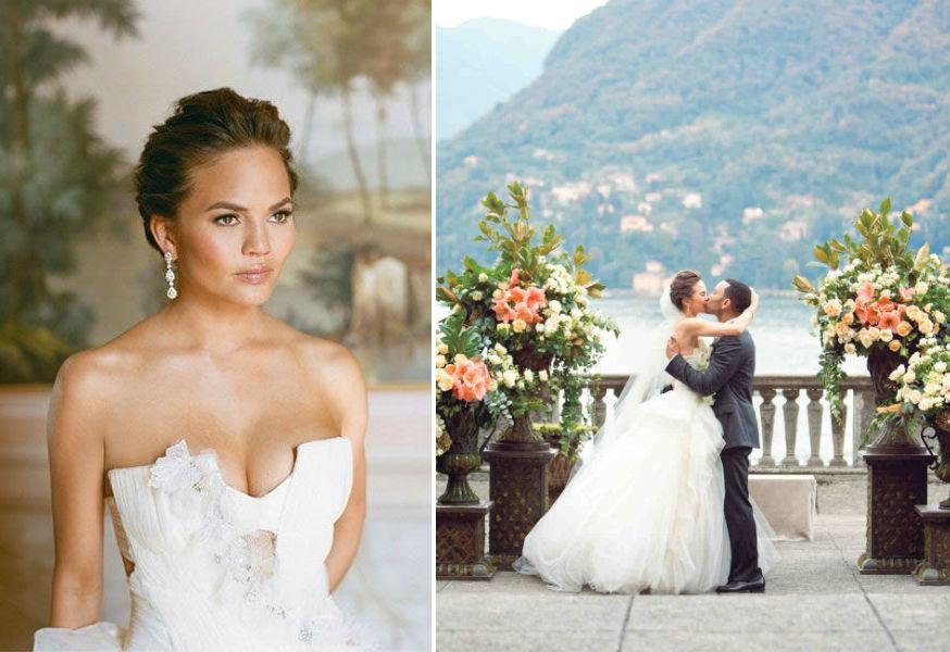 chrissy teigen wedding dress - Wedding Decor Ideas