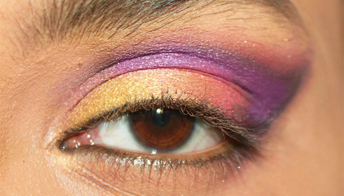 a bollywood inspired eye makeup tutorial her beauty