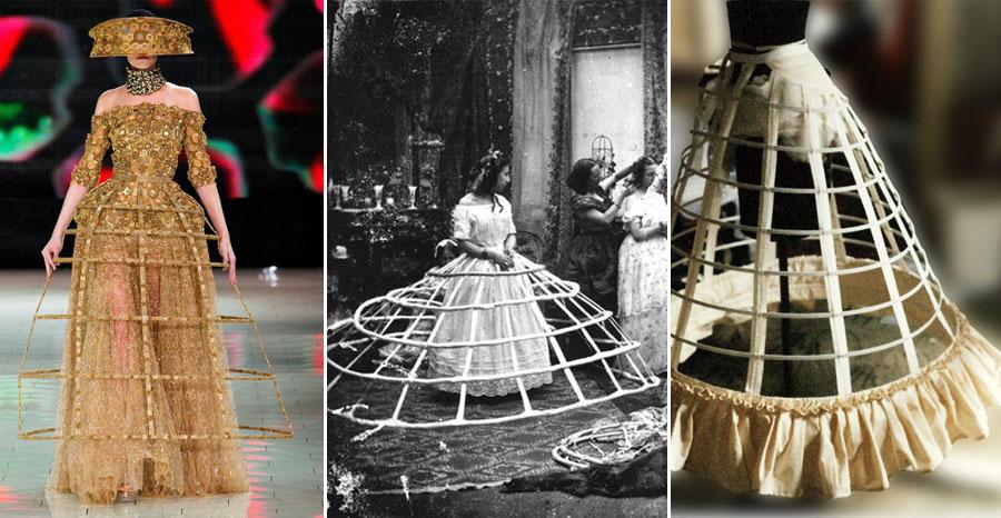 Cel mai Rău: Crinoline   | 12 Dintre Cele Mai Bune și Rele Tendințe  de Modă din Toate Timpurile | Her Beauty