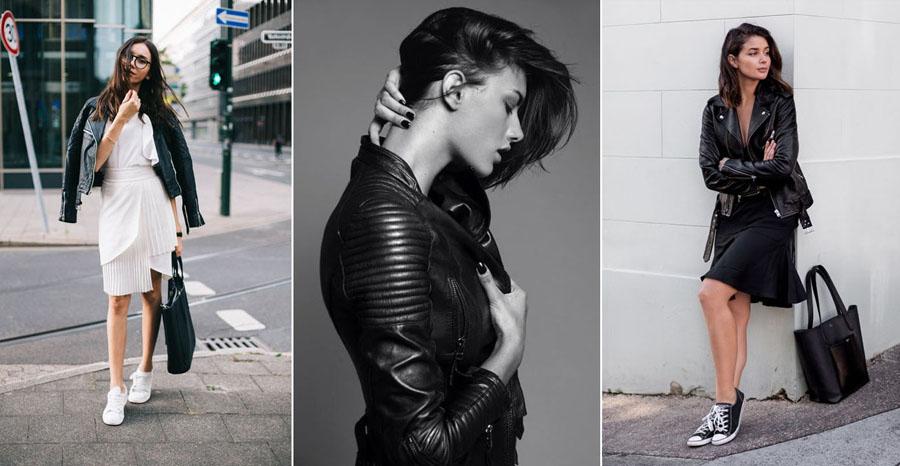 Cea mai bună: Jacheta din piele | 12 Dintre Cele Mai Bune și Rele Tendințe  de Modă din Toate Timpurile | Her Beauty