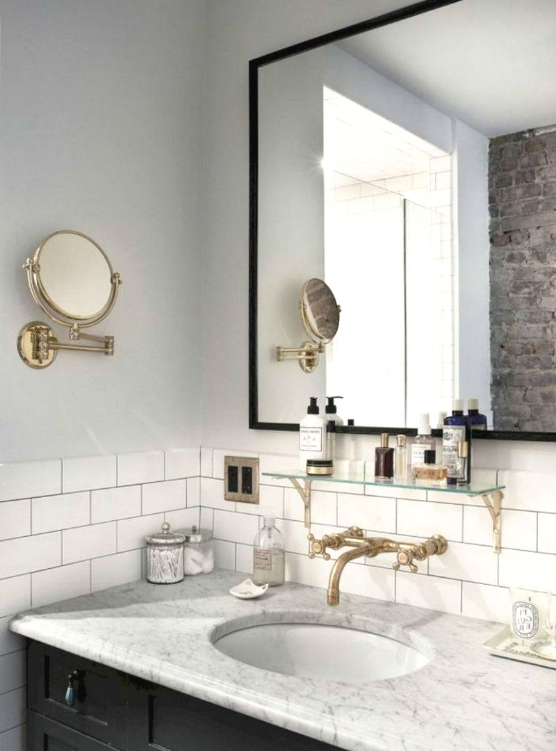 space saving hacks that will make your bathroom look big 01 - Best Bathroom Space Saving Ideas For Your Small Bathroom
