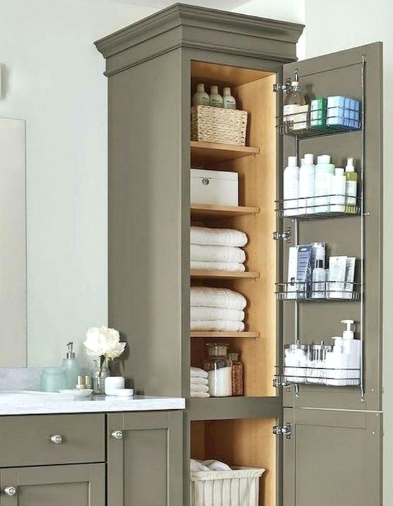 space saving hacks that will make your bathroom look big 07 - Best Bathroom Space Saving Ideas For Your Small Bathroom