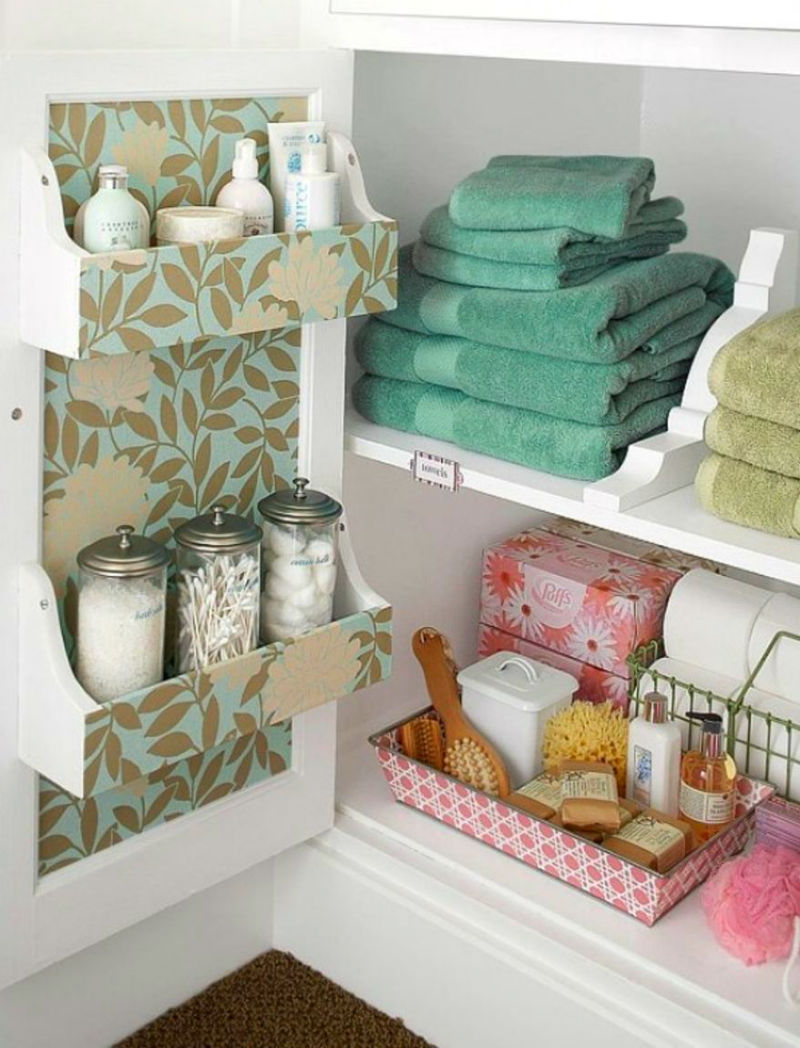 space saving hacks that will make your bathroom look big 09 - Best Bathroom Space Saving Ideas For Your Small Bathroom