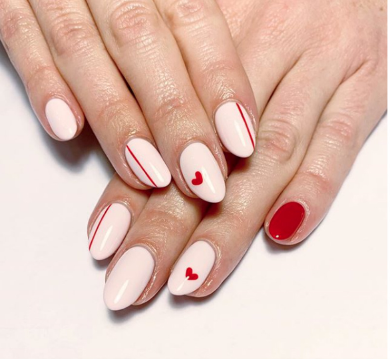 25 Actually Wearable Valentine's Day Nails Ideas 》 Her Beauty