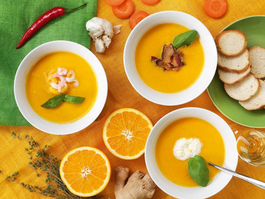 Холодный морковно-апельсиновый крем-суп | HerBeauty