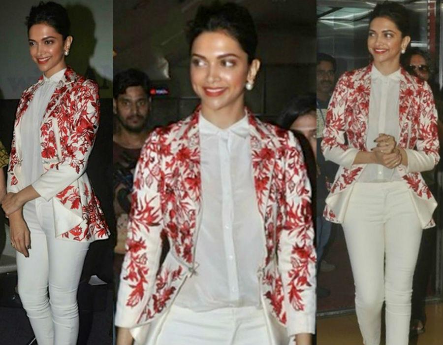 Deepika Padukone Varun Bahl look | HerBeauty