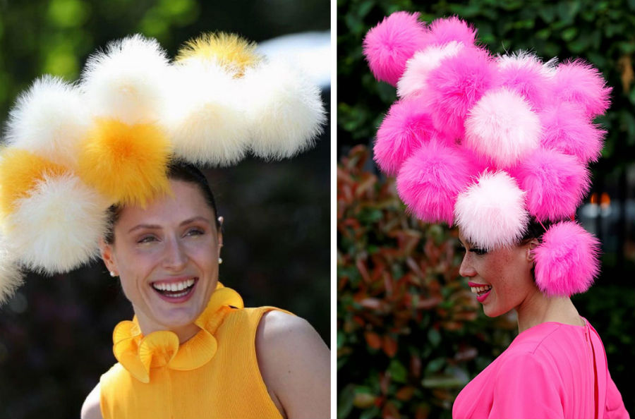 Wear to the Royal Ascot – go for pom poms | Her Beauty