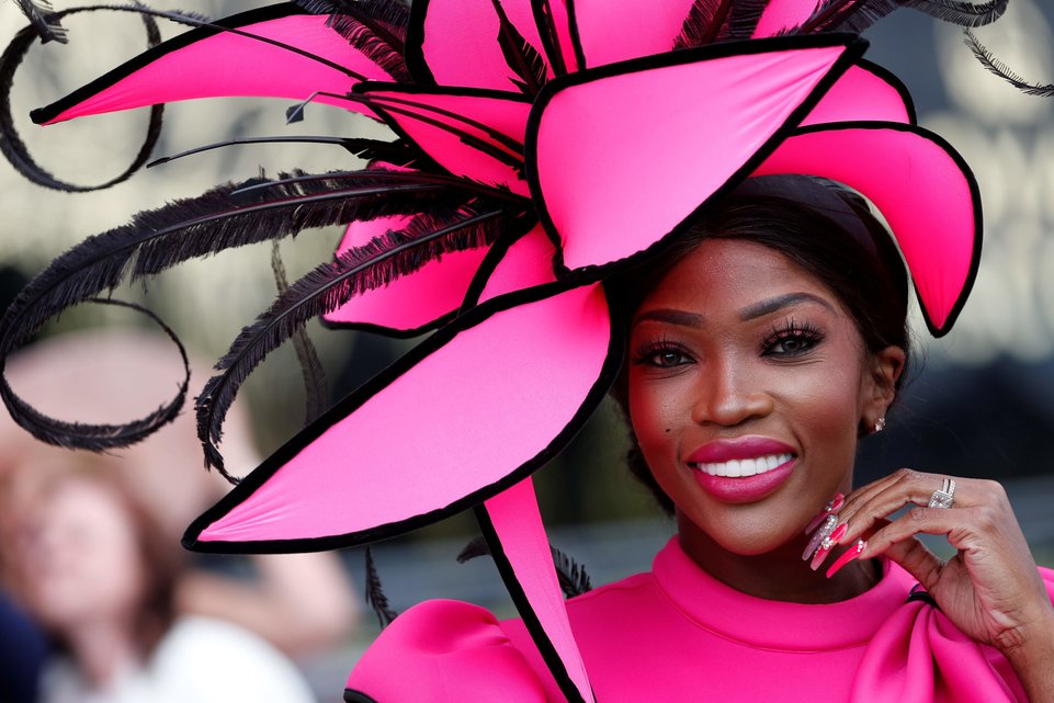 Impressed with the size, structure and color of this hat | Her Beauty