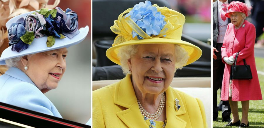 Queen chooses to go with a bold color   Her Beauty