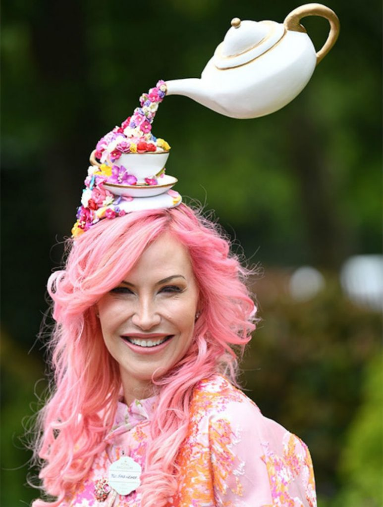Wear an entire teapot with flowers on your head as a fashionable hat | Her Beauty