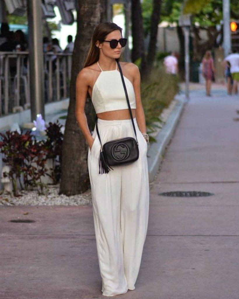 С брюками палаццо | Her Beauty