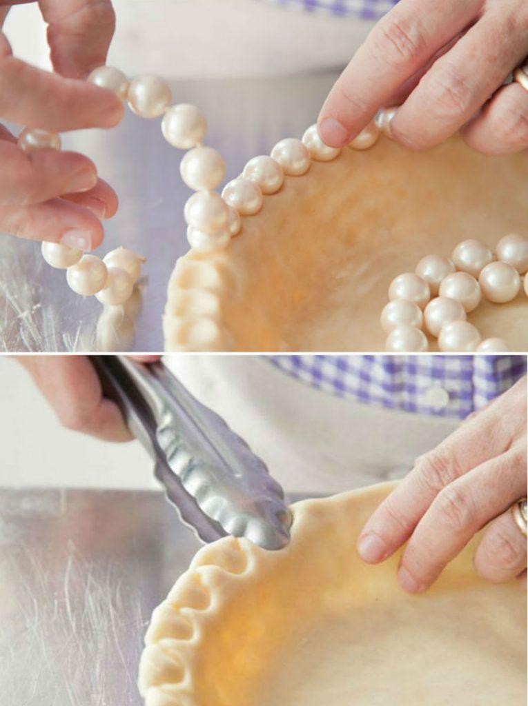 Красивые, фигурные бортики  пирога | 10 лайфхаков, которые превратят вас в гуру кулинарии | Her Beauty