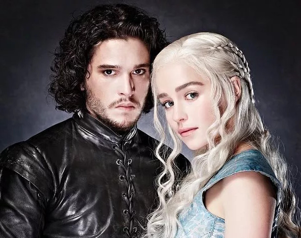 Daenerys Targaryen and Jon Snow, Game of Thrones | Her Beauty