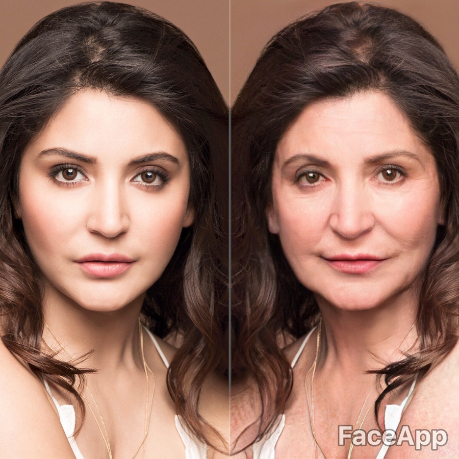 Anushka Sharma | What Bollywood Stars Will Look Like When They Grow Old | Her Beauty