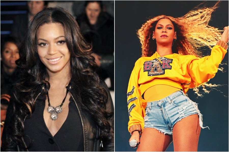 Beyonce | Celebrity Image Changes We Don't Remember | Her Beauty