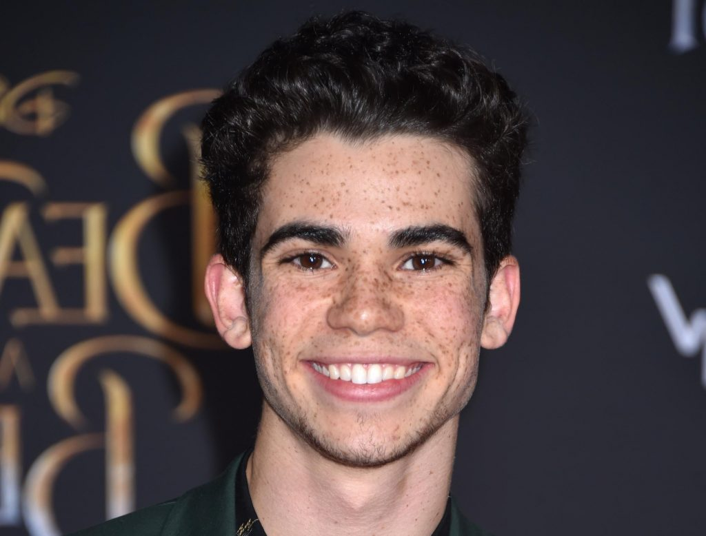 "Cameron Boyce star of the Disney series ""Jessie,"" 