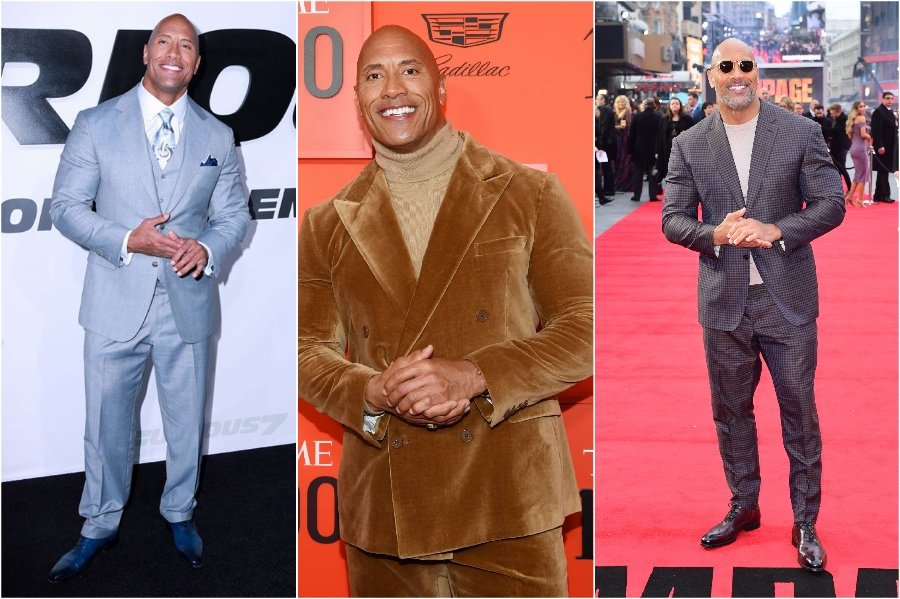 Dwayne The Rock Johnson | 11 Signature Celebrity Poses You Probably Never Noticed | Her Beauty