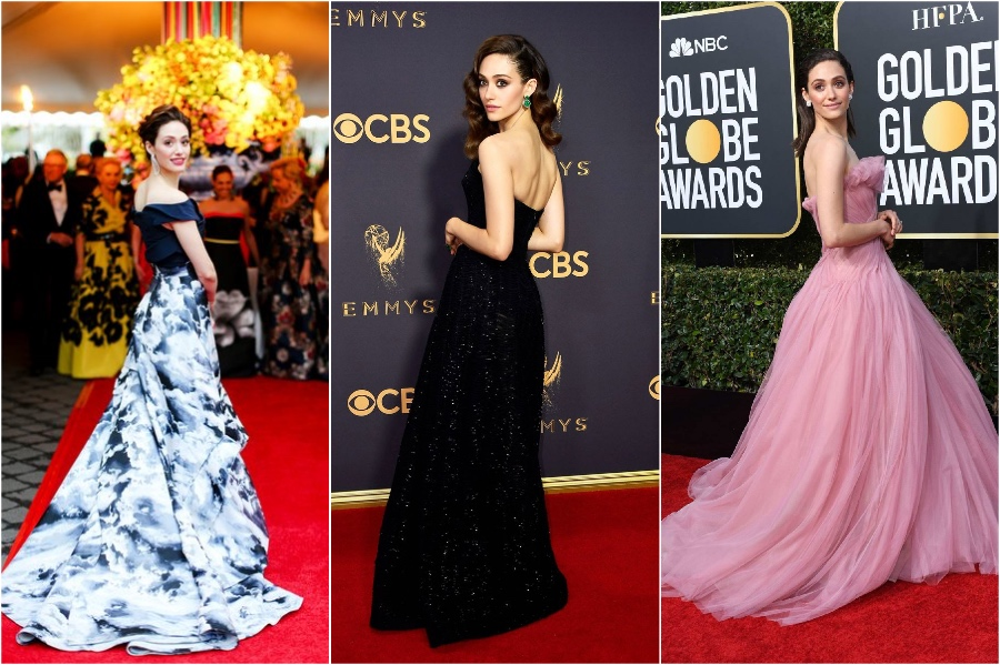 Emmy Rossum | 11 Signature Celebrity Poses You Probably Never Noticed | Her Beauty