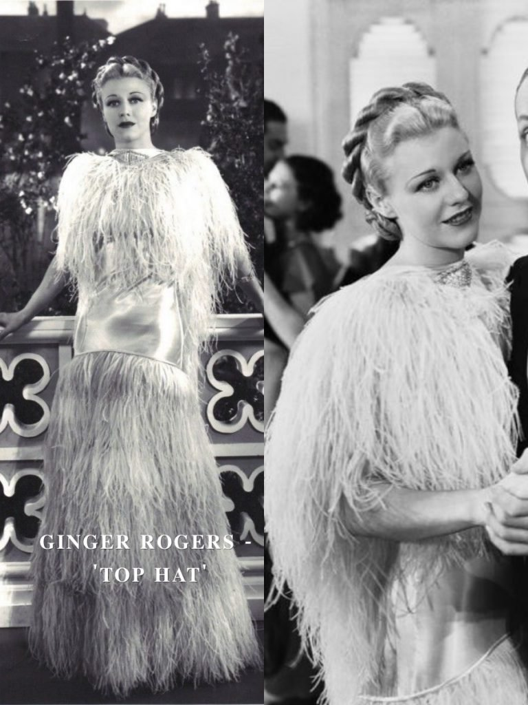 Ginger Rogers – Top Hat | 15 Iconic Movie Dresses You Wish You Could Wear | HerBeauty