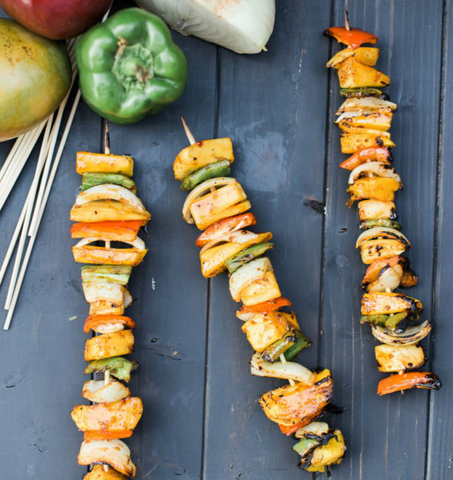 Spicy Mango Skewers | 12 Grilling Recipes You've Gotta Try This Summer | Her Beauty