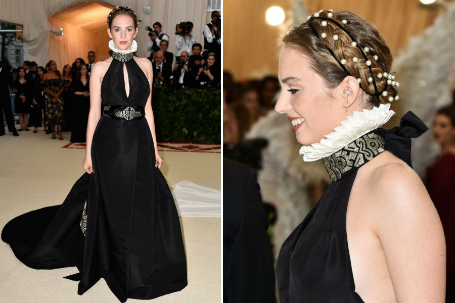 Hawke at the Met Gala in 2018| 13 Interesting Facts about Maya Hawke | Her Beauty