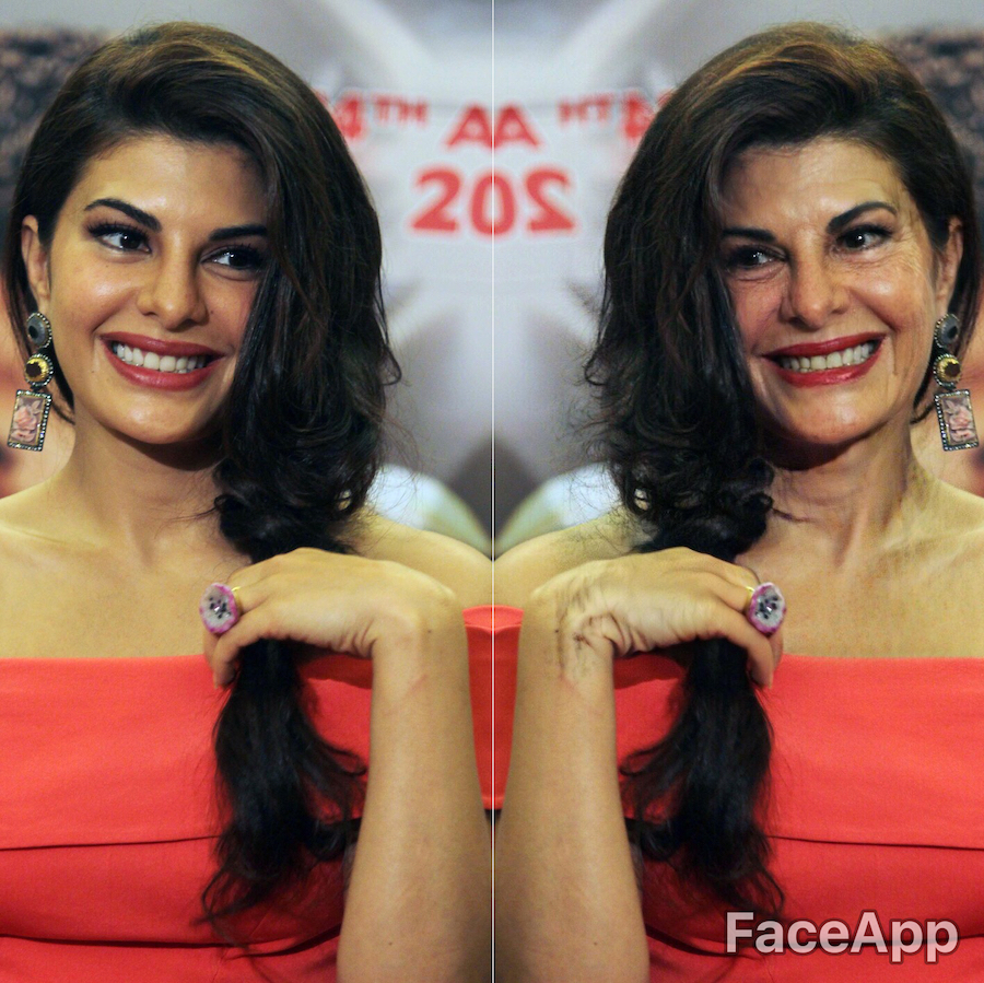 Jacqueline Fernandez | What Bollywood Stars Will Look Like When They Grow Old | Her Beauty