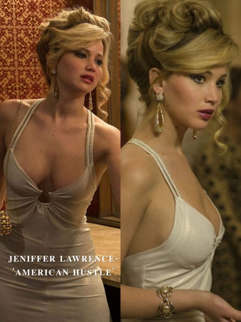 Jennifer Lawrence – American Hustle  | 15 Iconic Movie Dresses You Wish You Could Wear | HerBeauty