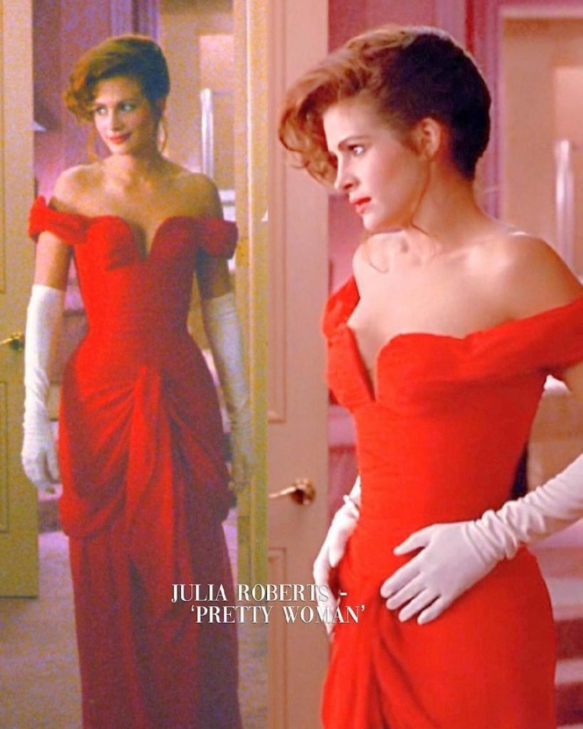 Julia Roberts – Pretty Woman | 15 Iconic Movie Dresses You Wish You Could Wear | HerBeauty