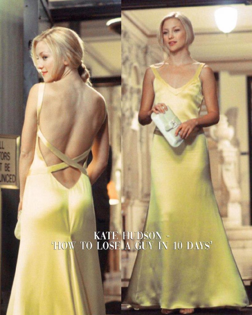 Kate Hudson – How To Lose A Guy In 10 Days | 15 Iconic Movie Dresses You Wish You Could Wear | HerBeauty