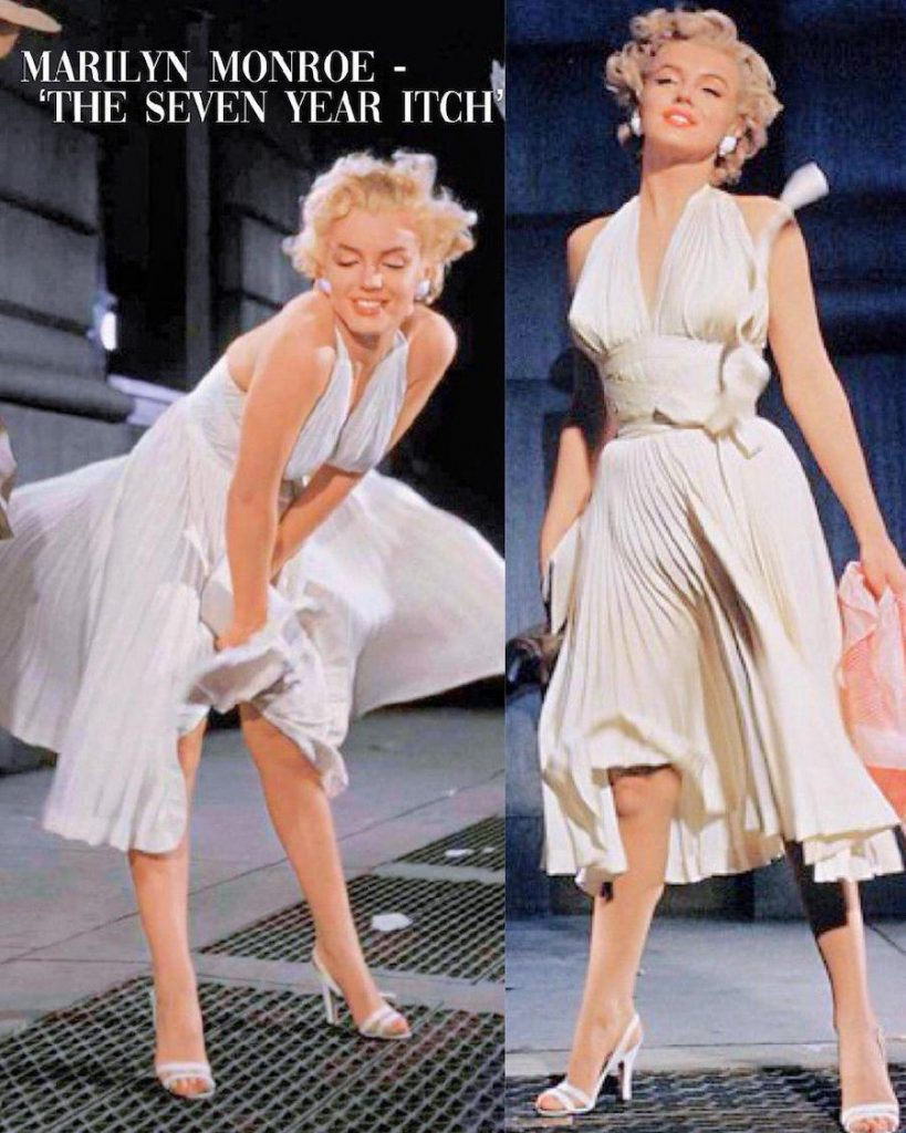 Marilyn Monroe – The Seven Year Itch | 15 Iconic Movie Dresses You Wish You Could Wear | HerBeauty