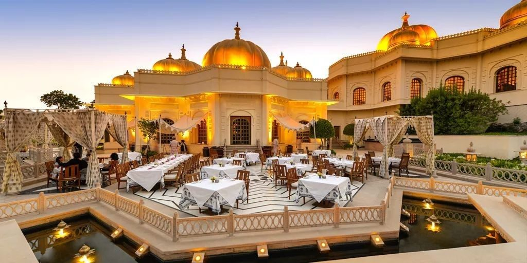 The Oberoi Udaivilas (Udaipur) #2 | 6 Bollywood Wedding Destinations To Make Your Big Day Unforgettable | Her Beauty