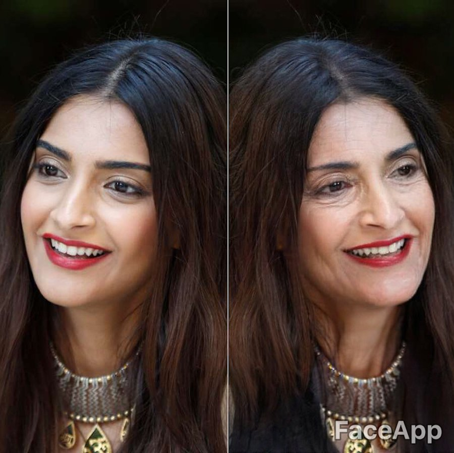Sonam Kapoor | What Bollywood Stars Will Look Like When They Grow Old | Her Beauty