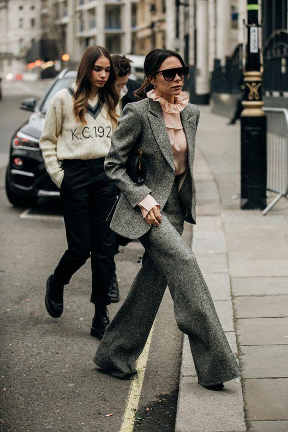 High ruffle collar   Victoria Beckham Style   Her Beauty