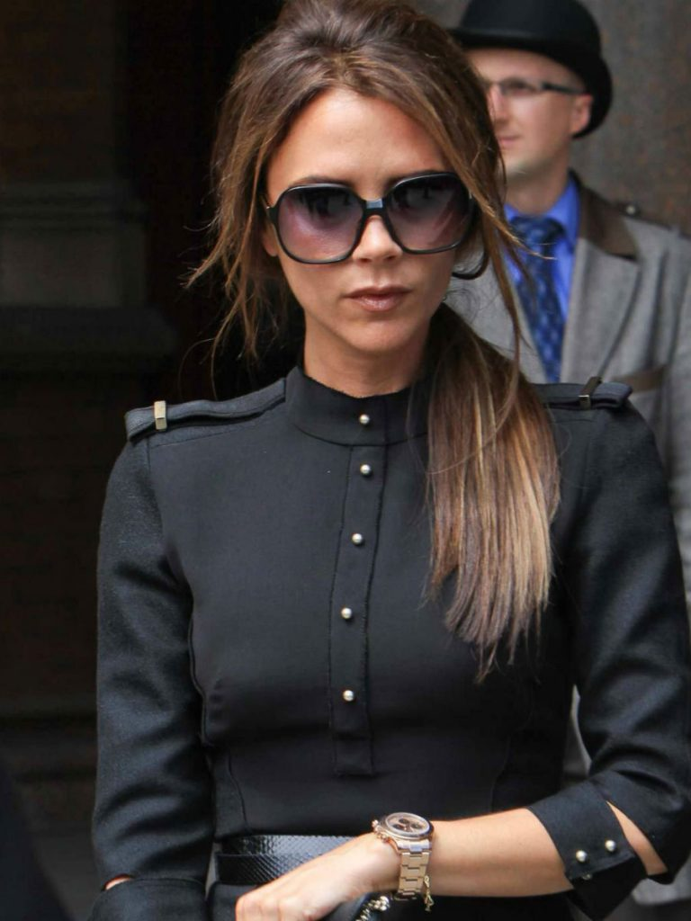 Oversized sunglasses | Victoria Beckham Style | Her Beauty