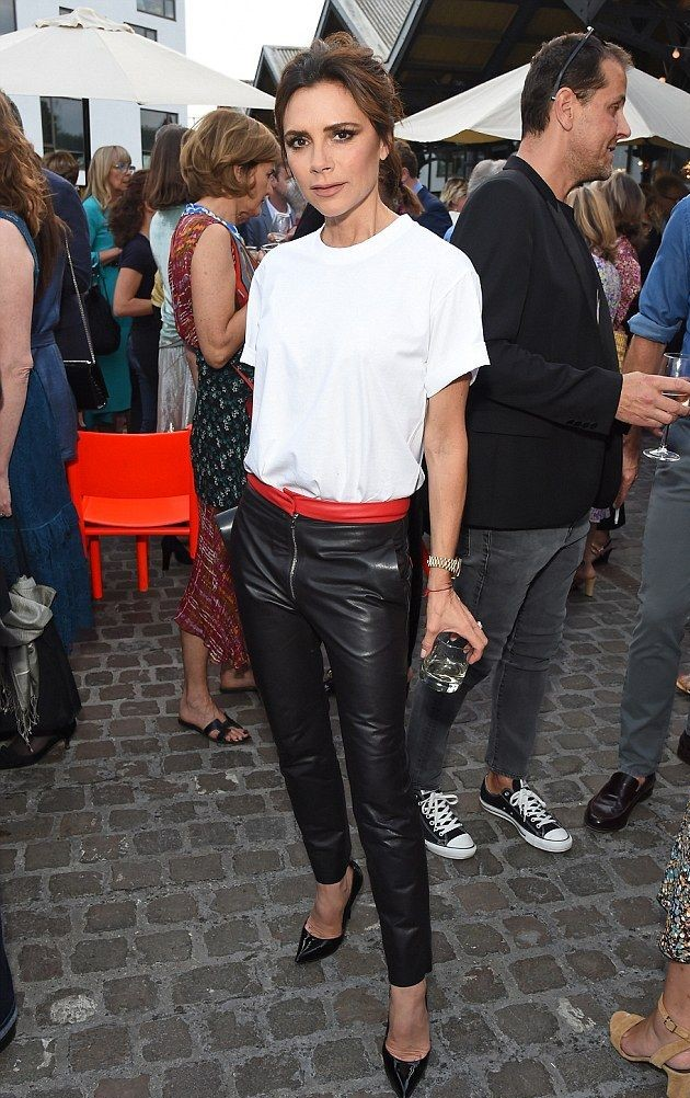 Leather pants | Victoria Beckham Style | Her Beauty