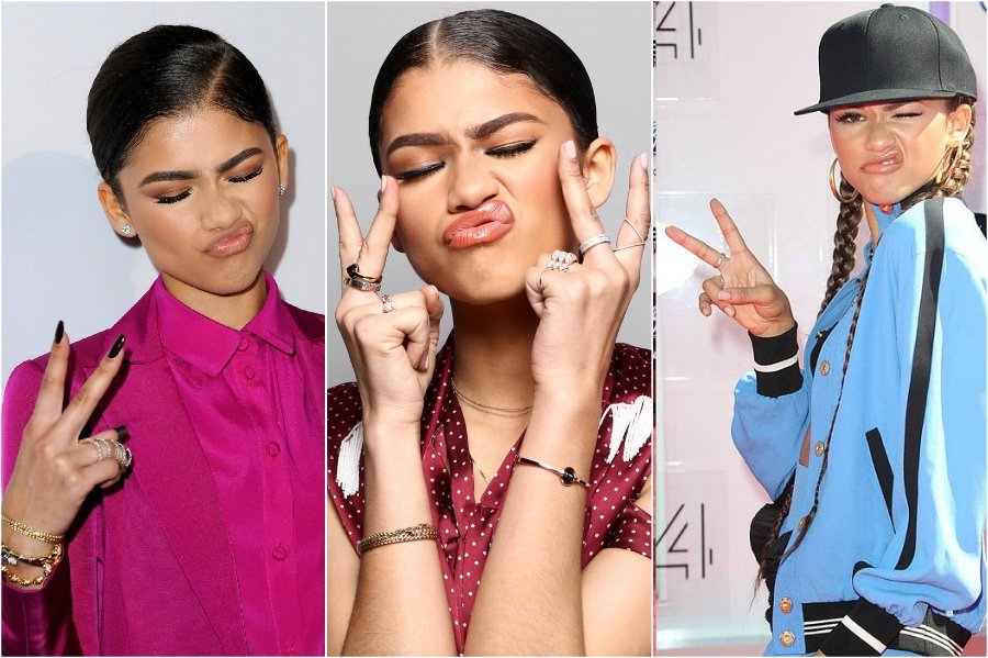 Zendaya | 11 Signature Celebrity Poses You Probably Never Noticed | Her Beauty
