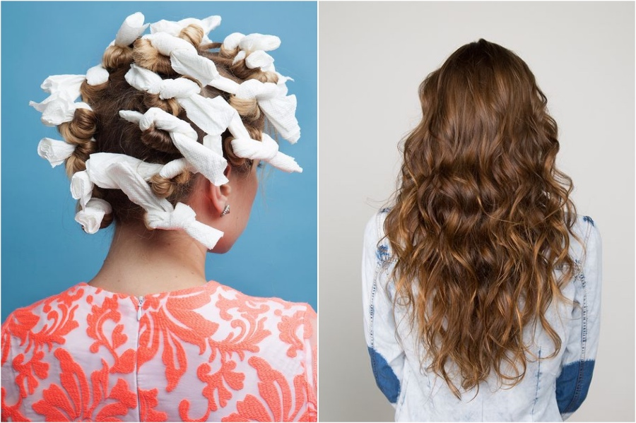 Rags For Heatless Curls | 7 Beauty Tips From Your Grandma | Her Beauty