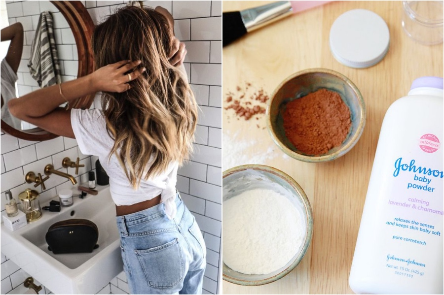 Baby Powder As Dry Shampoo | 7 Beauty Tips From Your Grandma | Her Beauty