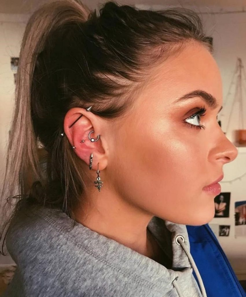 Daith Piercing Healing and Aftercare | The Daith Piercing: 8 Facts That Will Make You Want To Get One | Her Beauty
