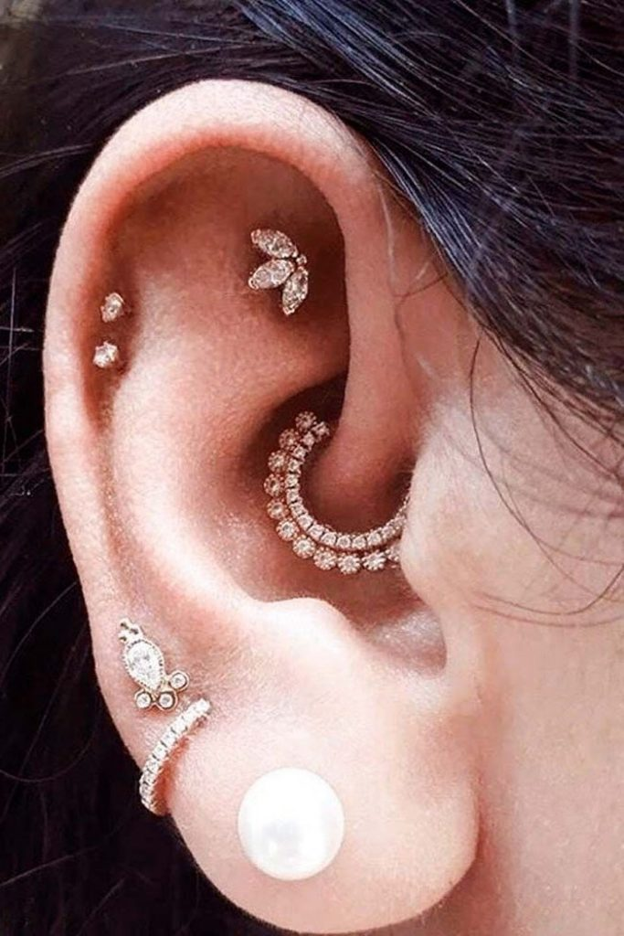 Clicker rings | The Daith Piercing: 8 Facts That Will Make You Want To Get One | Her Beauty