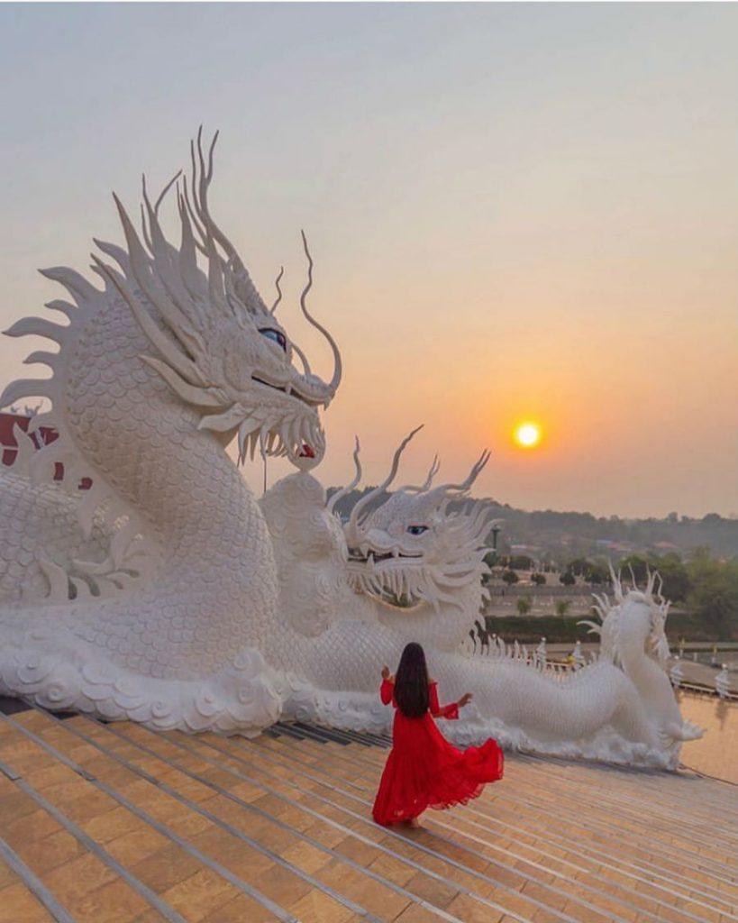 Белый храм в Чианг Рае в Таиланде  | Travel-девичники и экспедиции в самые яркие уголки нашей планеты | Her Beauty