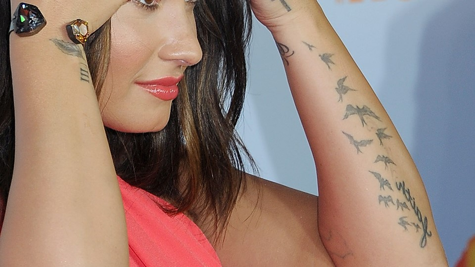 Demi Lovato's Tattoos| 14 Facts About Demi Lovato You Probably Didn't Know | Her Beauty