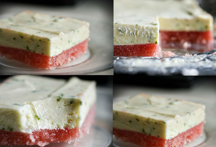 Frozen Watermelon Basil-Lime Bars | HerBeauty