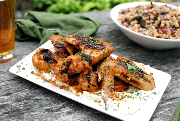 Honey Lemon Wings | 12 Grilling Recipes You've Gotta Try This Summer | Her Beauty