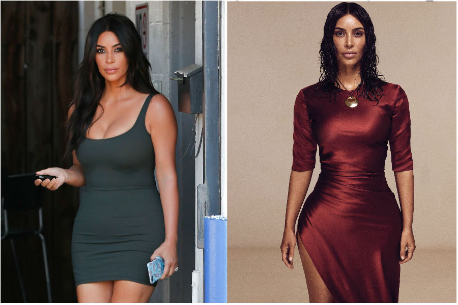 9. Kim Kardashian   | 9 Celebs Who Got Super Skinny | Her Beauty