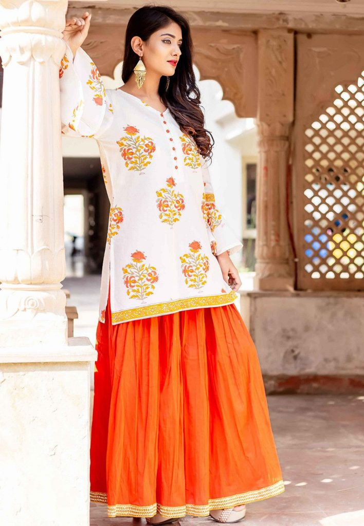 kurti with a skirt | 9 Fashion Tips Every Indian Girl Should Follow | Her Beauty